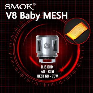 SMOK TFV8 Baby Replacement Coils in abu Dhabi/UAE