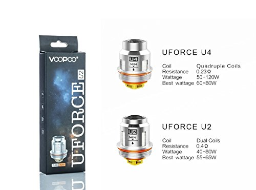 VOOPOO UFORCE REPLACEMENT COILS IN DUBAI/Sharjah