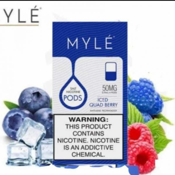 Myle v4 iced Quad berry in Dubai/UAE