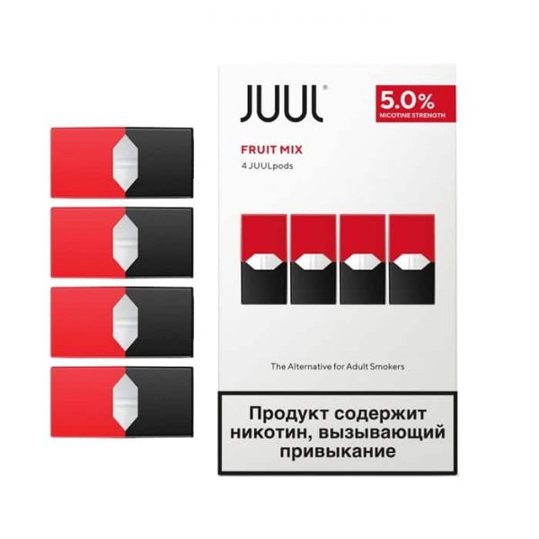 JUUL PODS FRUIT MIX RUSSIAN-DUBAI