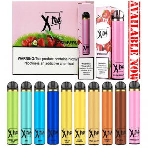 Xtra disposable vape 1500 puffs in dubai