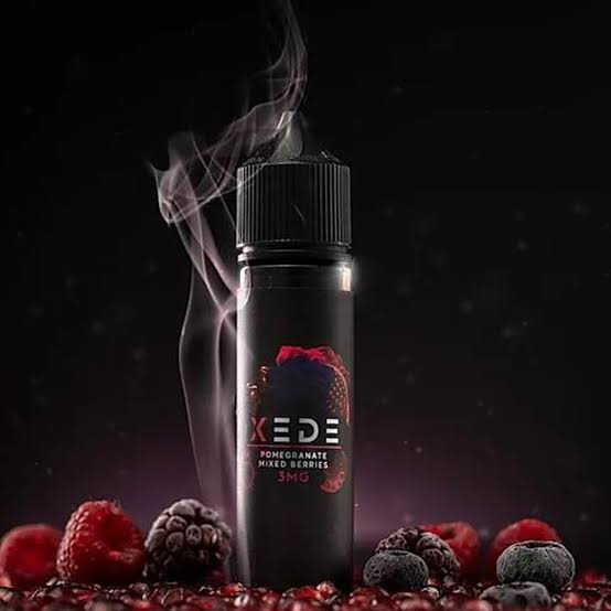 Xede pomegranate and mixed berries by Sam Vape-UAE